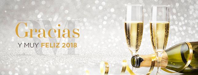 Gracias y Feliz 2018