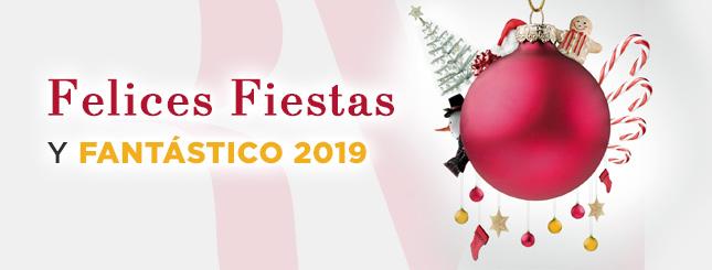 Felices Fiestas y Genial 2019